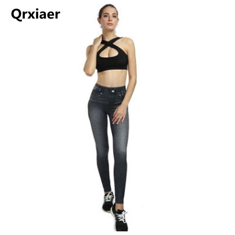 Qrxiaer High Waist   Jeans   Women Streetwear Bandage Denim Plus Size   Jeans   Femme Hip sport Pants Skinny   Jeans   Women