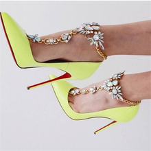 1Pcs 2017 Ankle Bracelet Wedding Barefoot Sandals Beach Foot Jewelry Sexy Pie Leg Chain Female Boho Crystal Anklet