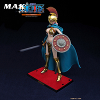 1/6 Collectible Janpan Anime Figure One Piece Full Set Gladiator Rebecca Seamless Action Figure Model with 2 Heads for Fans Gift