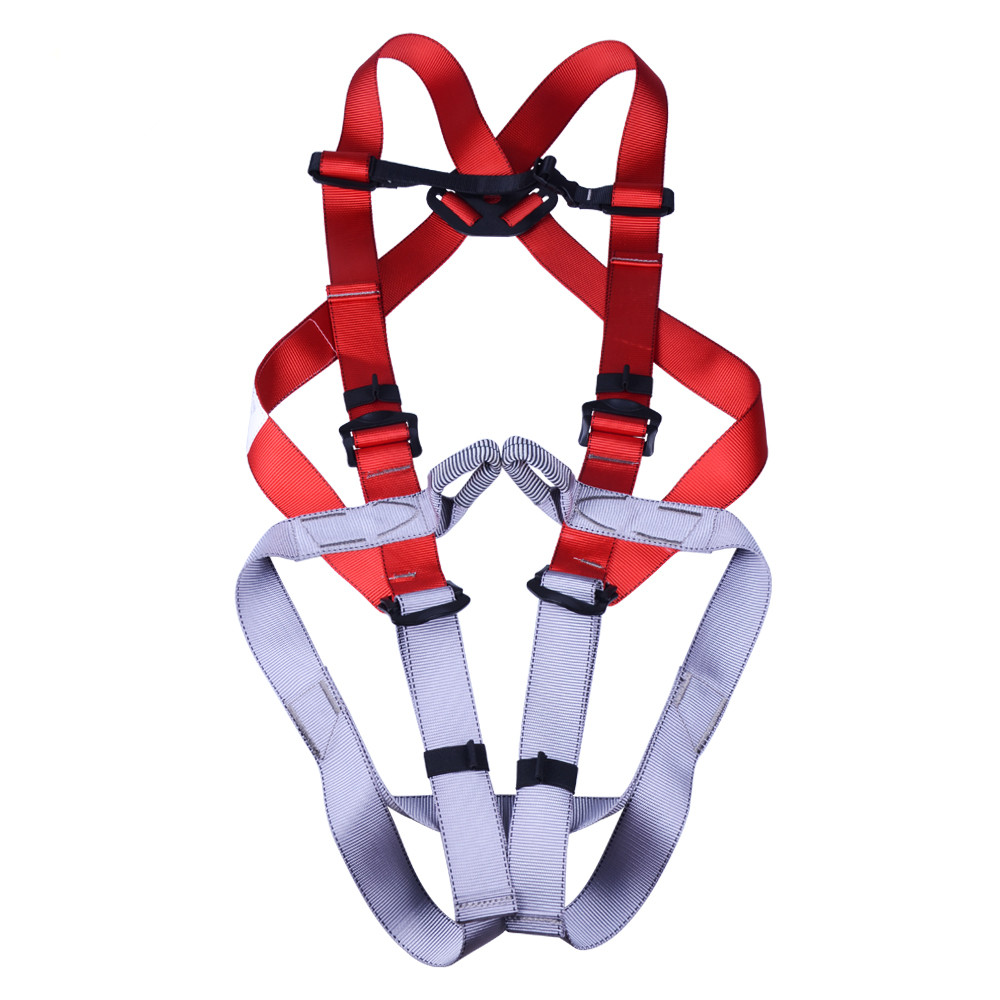 Outward Bound Full Body Safety Belt Rock Climbing Rescue Tactical Rappelling Downhill Harnesses, CE Approved professional rock climbing harnesses full body safety belt anti fall removable gear altitude protection equipment