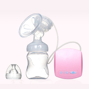 Electric Automatic Breast Pump With Milk Bottle Infant USB BPA free Powerful Breast Pumps Baby Breast Feeding Manual Breast Pump