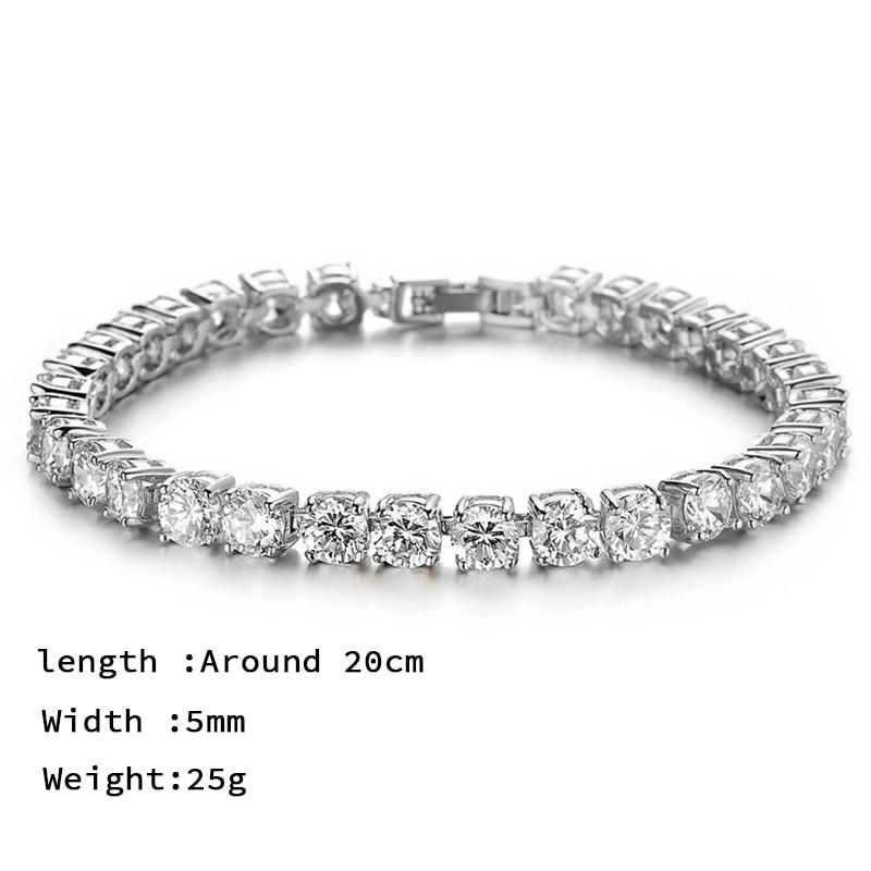 Tennis Bracelet Mens (12)