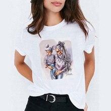ZOGANKI  Women Summer Harajuku Cartoon Printed Tshirt Leisure Streetwear T-shirt Female Cute Tops Tee Fashion Mama Tees