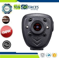 DVR IR Night Visible LED Light Cam 4 hour Record Digital Mini DV Recorder Voice HD 1080P Police Body Lapel Worn Video Camera