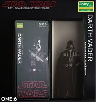 Crazy Toys 1:6 Star Wars Figure Darth Vader PVC Action Figures Collectible Model Toy 26cm