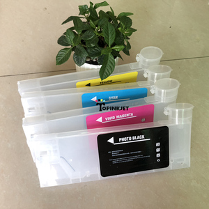 Image 5 - New type 220ml refill ink cartridge for Roland For Mimaki For Mutoh CISS ink cartridge with funnel