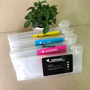 Image 5 - Nieuw type 220 ml refill inkt cartridge voor Roland Mimaki Voor Mutoh CISS inkt cartridge met trechter