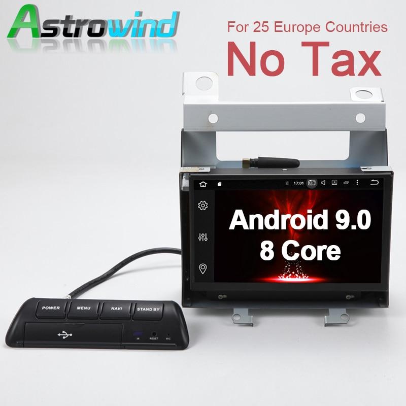 Astrowind 4G RAM 32G ROM Android 9.0 voiture DVD GPS Navigation Radio stéréo pour Land Rover Freelander 2 découverte pour Range Rover