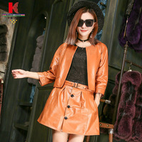 Dress Suits For Women Two Piece Red Green Brown Pink Black Jackets Fashionable Skirt Fitted Beautiful Inexpensive Work Suits