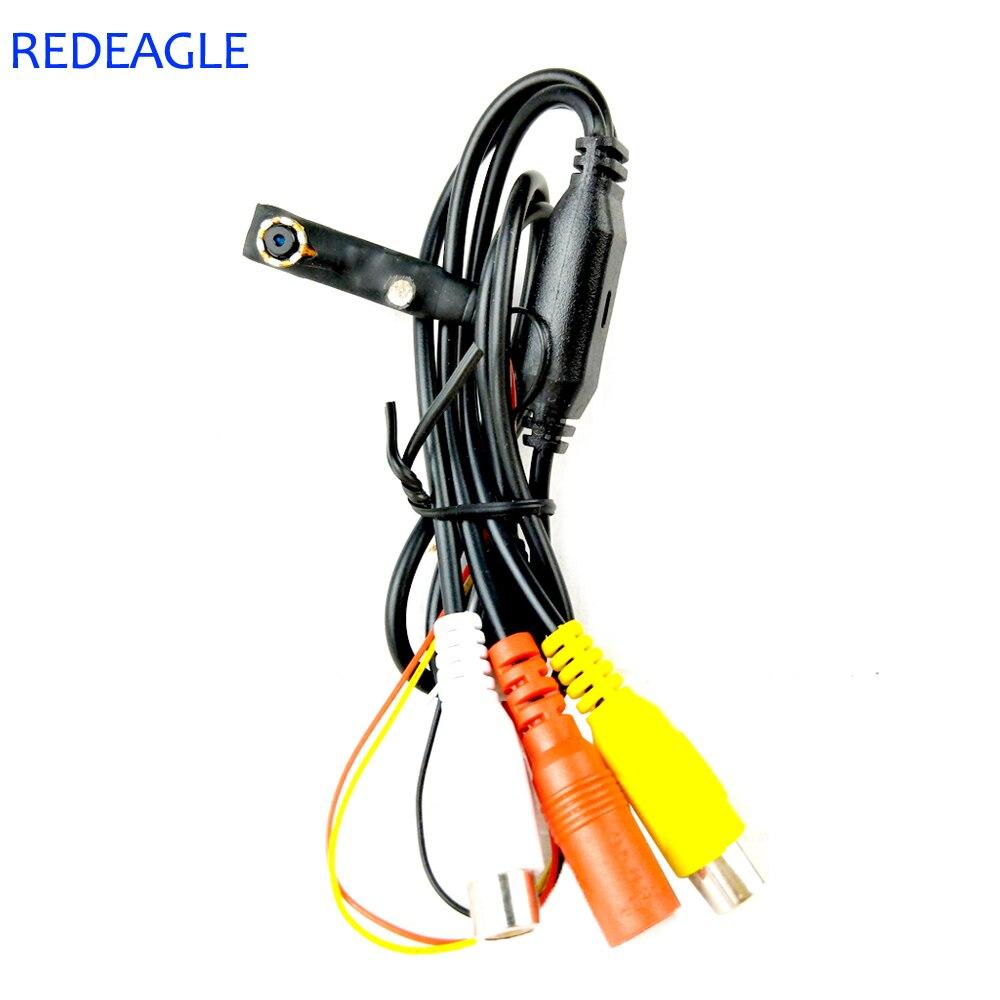 REDEAGLE 1000TVL CMOS Analog Camera Mini Home Security Video Surveillance Camera 6pcs 940nm IR LEDs Smallest AV Cameras