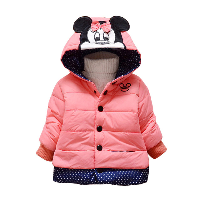 22eb07534 New Girls jackets f Minnie cartoon Clothing coat baby girl winter ...