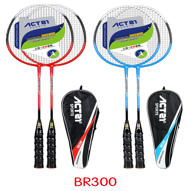 A Variety Of People Will Attack ACTEI Badminton Multicolored Singles And Double Shots For A Long Time