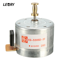 LEORY DC 9 12V 3 Speed 33 45 78 RPM Metal Turntables Motor 25 Mm Mounting