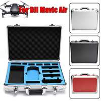 a Black Silver Red large capacity lightweight Standard Type Carrying Case for DJI Mavic Air