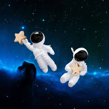 Asymmetric Astronaut Earrings