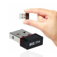 150M Mini USB karta sieciowa WiFi Adapter bezprzewodowy 802.11n bezprzewodowy odbiornik wifi VSH-MT7601