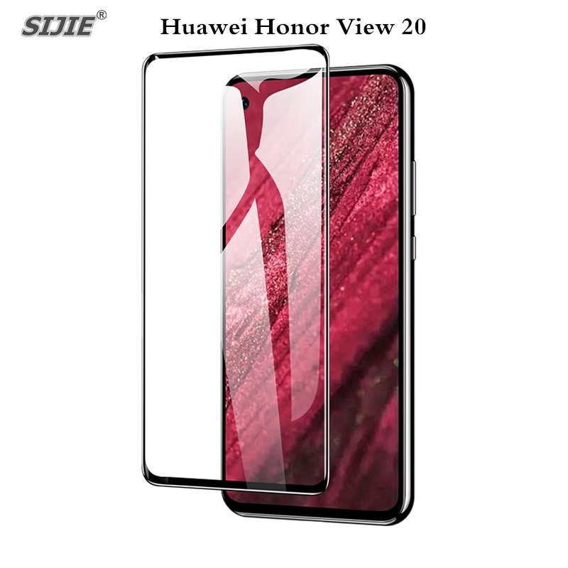 Full cover Tempered Glass For HUAWEI Honor View 20 screen protective case 9H tou