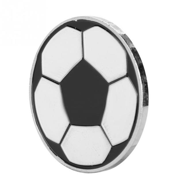 Soccer Toss Coin Football Race Match Picking Edge Side Finder Coin Toss Equipment Judge Referee Flipping Tools Acessories
