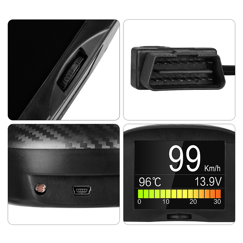 Image 5 - AUTOOL X50 Plus OBD2 Display Speedmeter Auto On board Computer Car OBD Smart Digital Voltage Speed Meter Temperature Gauge Alarm-in Code Readers & Scan Tools from Automobiles & Motorcycles
