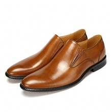 Designer Mens Genuine Leather Dress Oxfords Italian Real Cow Formal Shoes Rubber Brand Retro JS-A0002