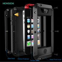4S 5C SE 6S IP7 Waterproof Shockproof Phone Cover For IPhone 4 5 6 7 Plus