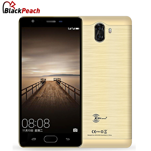 "KenXinDa S6 5.0"" HD Mobile Phone MTK6737 Quad Core Android 7.0 2GB RAM 16GB ROM 13MP+8MP Cam 3500mAh 4G Fingerprint Smartphone"