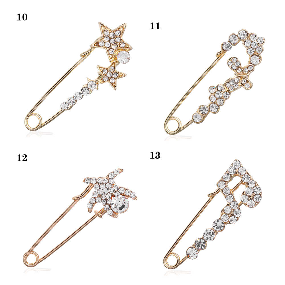 640461d1a ... 2019 New Arrival 1Pcs Fashion Large Vintage Hijab Pins and Brooches for  Women Animal Pins Brooches ...