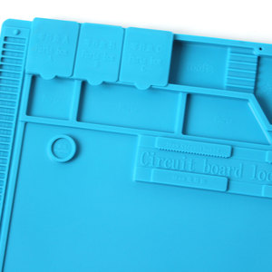 Image 4 - S 170 Isolierung Pad Wärme Beständig Silicon Löten Matte 480mm X 318mm Arbeits Pad Schreibtisch Plattform Solder Rework reparatur Werkzeuge