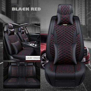 Leather car seat cover for led h7 h4 mazda 3 seat leon  ibiza opel astra H j peugeot 307 audi A3 a4 auto accessories car stylin peugeot 307 aksesuar