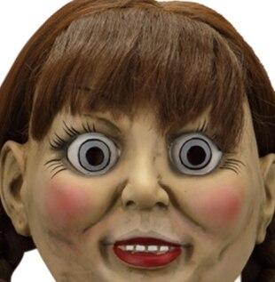 2019 les prestidigitateurs Annabelle Masque Cosplay Halloween Effrayant Film Adulte Masque Props