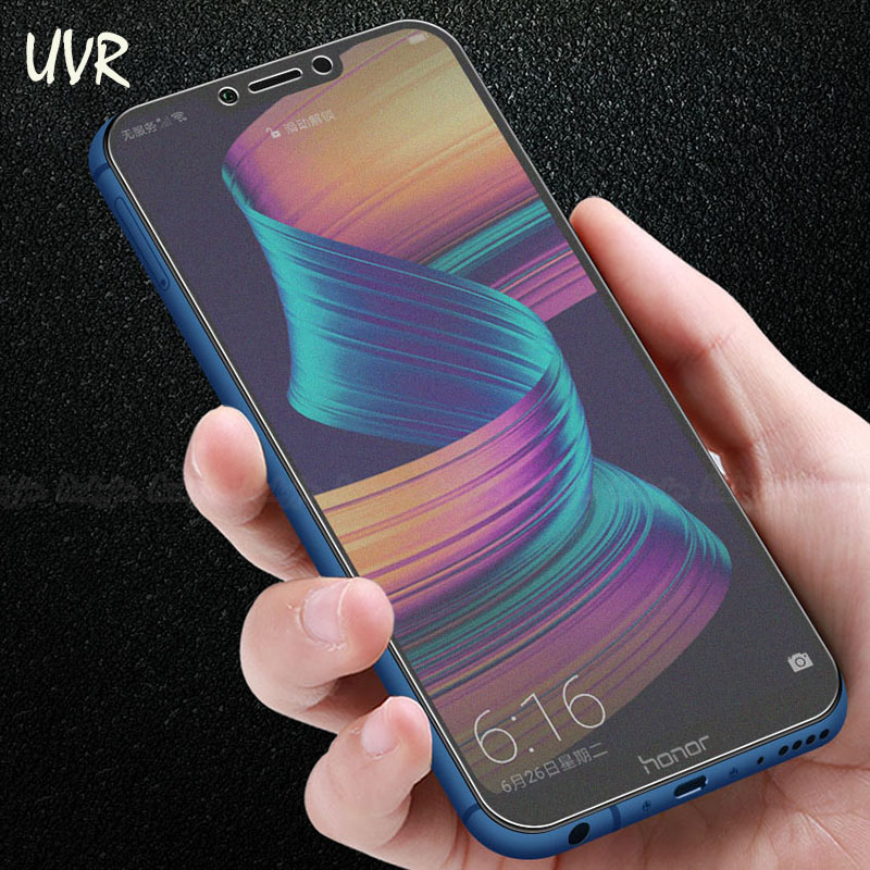 UVR For Huawei Honor Play Anti Fingerprints Matte Frosted Tempered Glass For Honor Play 2.5D Full Cover Screen Protector Film