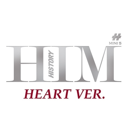 HISTORY 5TH MINI ALBUM - HIM (HEART VER.) Release Date 2016.04.12 KPOP ALBUM kgb fx 5 ver 2 модуль saturn multican 400 mini
