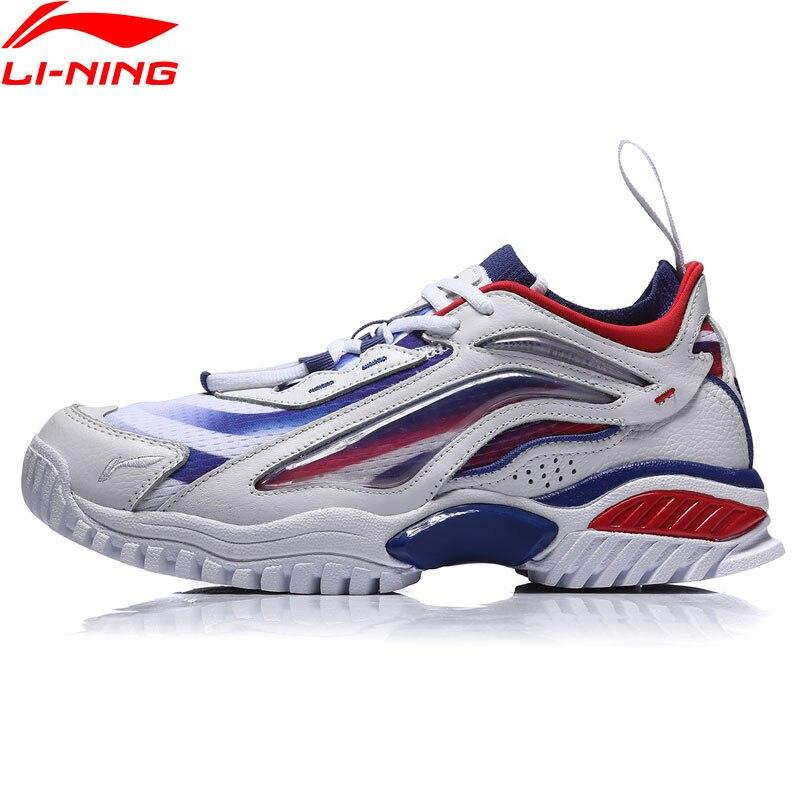 Li-ning PFW femmes AURORA SKYWALKER style de vie chaussures rétro portable doublure Sport loisirs baskets AGLN242 YXB252