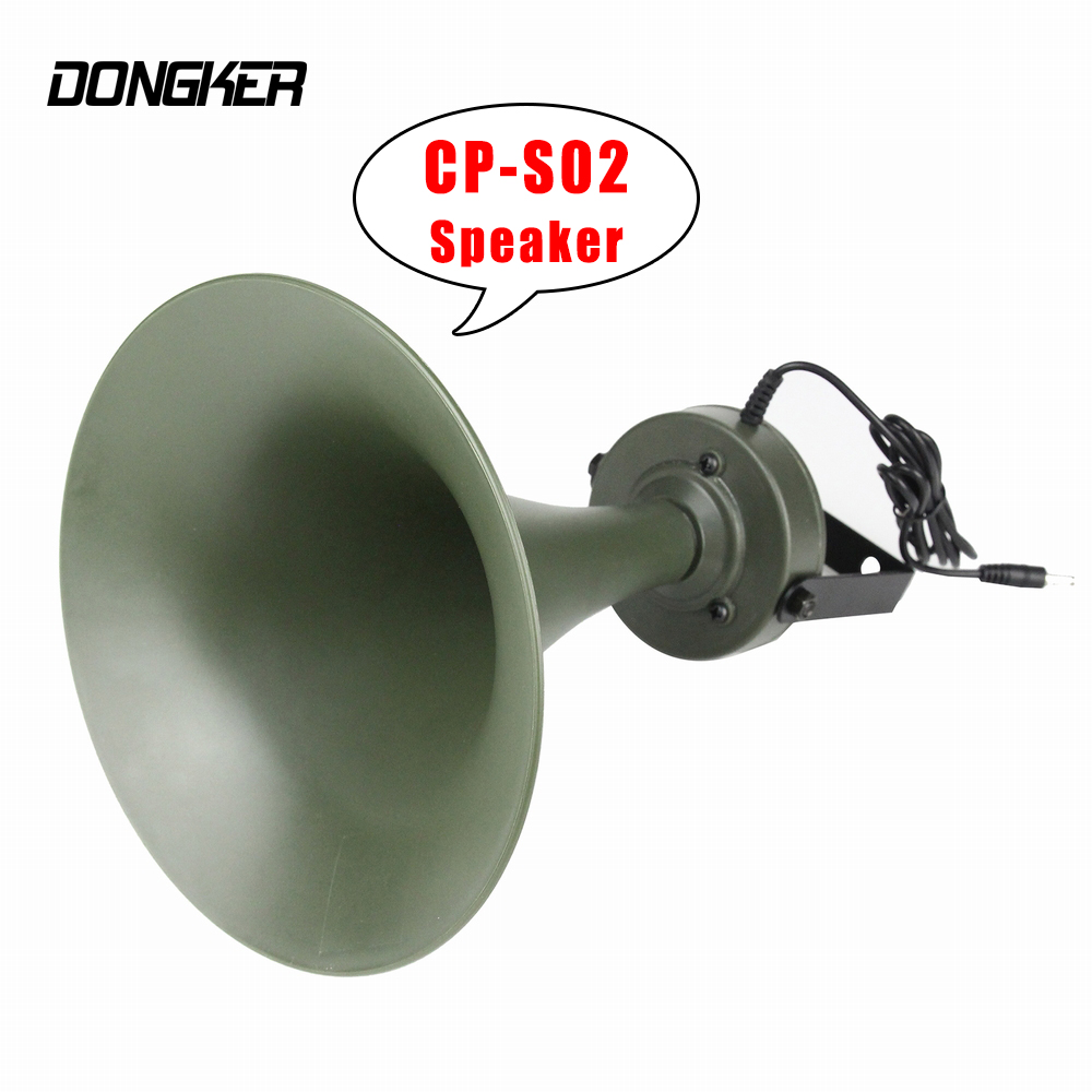 CP-S02 Special Loudspeaker Birds Caller Speaker Hunting Special Equipment 35W 130dB Mp3 Device Super Loud Bird Sound