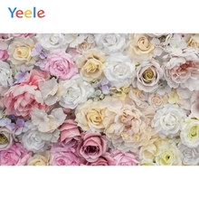 Yeele Fresh Blossom Rose Bright Flowers Wallpapers Personalized Photography Backdrops Photographic Backgrounds For Photos Studio