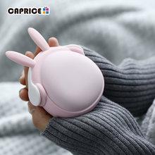 Mini calentador de manos para niñas, portátil, de bolsillo, batería de 6000mAh, recargable, WT-W6