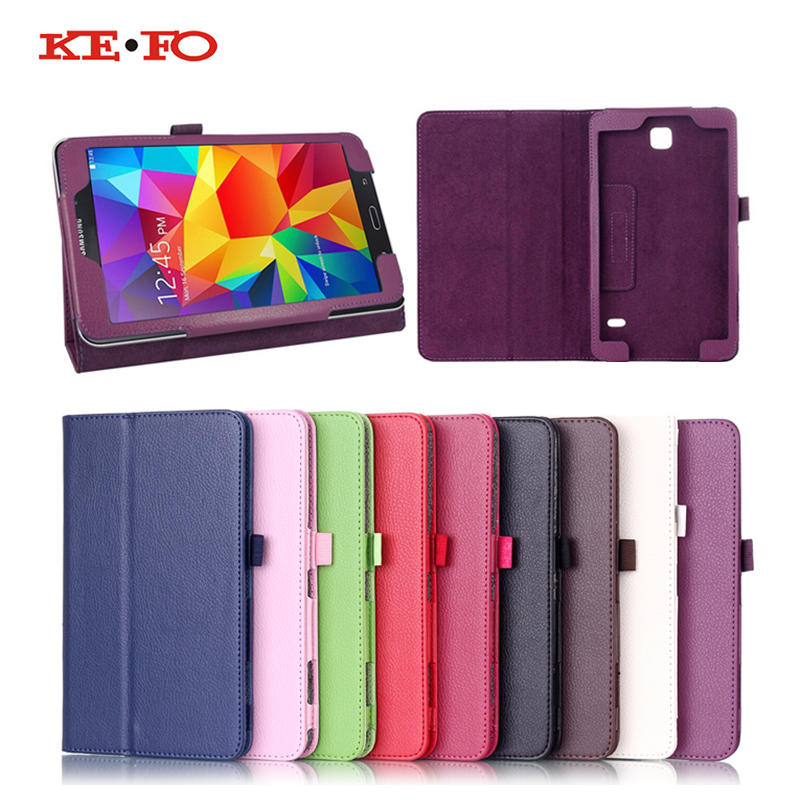 wholesale dealer 02909 329a5 US $4.73 5% OFF|For samsung galaxy tab 4 8.0 SM t331 PU Leather Case Cover  For Samsung Galaxy Tab 4 8.0 inch T330 T331 T335 tablet Accessories-in ...