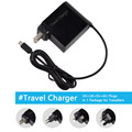 19 v 1.75a 33 w laptop ac power adapter carregador de viagem para asus eeebook x205t x205ta us + uk + eu + au plugs em 1 pacote