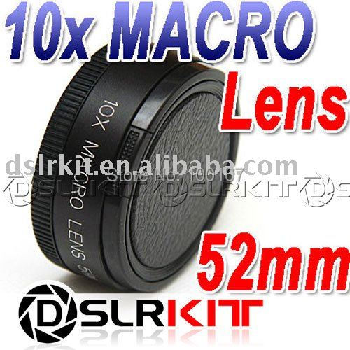 Conversion Lens! 52mm 10x MACRO LENS +10 Close Up for Canon Nikon Sony