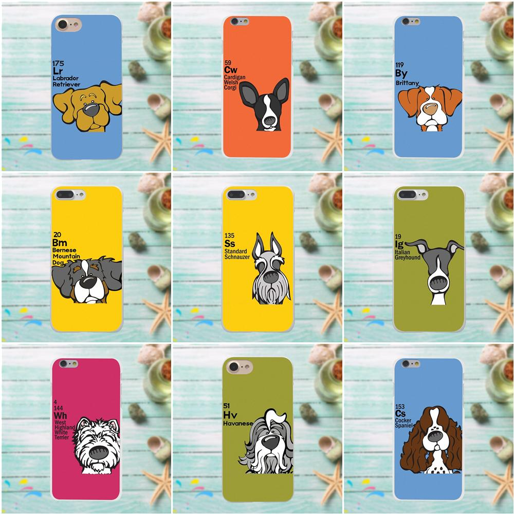 Periodic Table Of Ele Ments Dog Pattern Phone Case For Samsung Galaxy A3 A5 A7 J1 J2 J3 J5 J7 2015 2016 2017