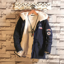 2016 Winter  Men's Jacket Parka Thick Warm  Cotton Jacket Men Hooded Parka Men