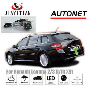 JIAYITIAN Rearview Camera For Renault Laguna III Laguna 2 Laguna 3 2007~2015/Reverse Camera/CCD/Night Vision/license plat Camera фото