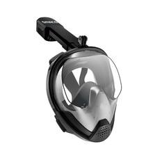 c9f322a2f SMACO Original Snorkel Máscara de Mergulho Cara Cheia Máscara de Mergulho  de 180 Graus Vista Top