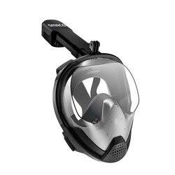 SMACO Originale Snorkel Maschera Pieno Viso Scuba Diving Maschera di Vista di 180 Gradi Lo Snorkeling Occhiali Dry Top Set Anti-fog per I Bambini Adulti