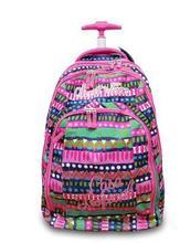 Szkoła Rolling plecaki dla dziewcząt plecaki na kółkach z kółkami walizka dziecięca torba na bagaż dla dzieci plecaki szkolne na kółkach tanie tanio Torby szkolne Nylon Floral zipper Torba na kółkach Dziewczyny Girls 48cm 34cm 1 9kg 23cm YCBXBAO School bags Trolley Schoolbag