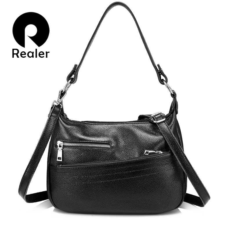04b6e3a2c1c8 REALER сумка женская натуральная кожа,сумки женские через плечо высокого  качества,маленькая кожаная сумочка