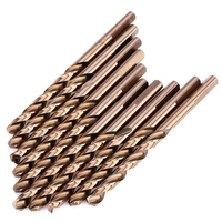 High Quality M35 10PCS 1 4 Inch High Speed Steel 3 94 Inches Long Triangle Shank