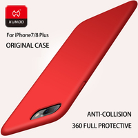 Luxury XUNDD Brand Original Protect Caes For Iphone 7 8 Plus Phone Fashion Shockproof Silicone 360