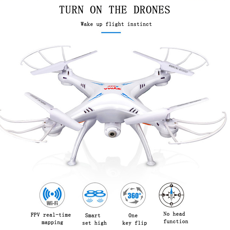SYMA X5SW RC Drone Wifi Camera Quadcopter Real Time Transmit FPV Headless Mode Dron RC Helicopter Quadrocopter Drones Aircraft стоимость