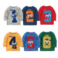 Boy T-Shirt Cartoon Children T Shirts Kids Clothes Boy Tops And Tees Boy Kids T-Shirt Roupas Infantis Menino